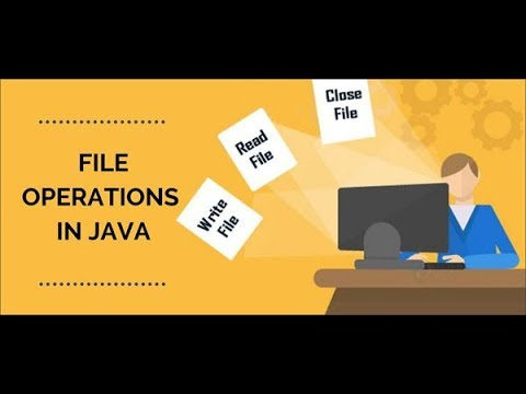 Basic I/O Operations in Java (Input/Output Streams)