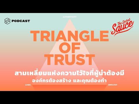 สามเหลี่ยมแห่งความไว้ใจที่ผู้นำต้องมี องค์กรต้องสร้าง และคุณต้องทำ | The Secret Sauce EP. 258