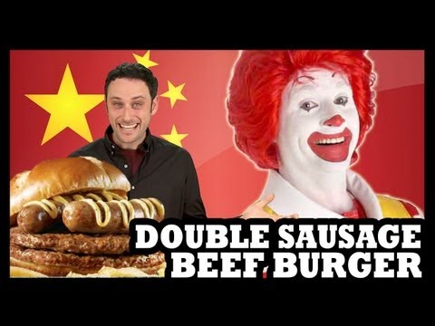 McDonald's China Gets Double Sausage Big Mac