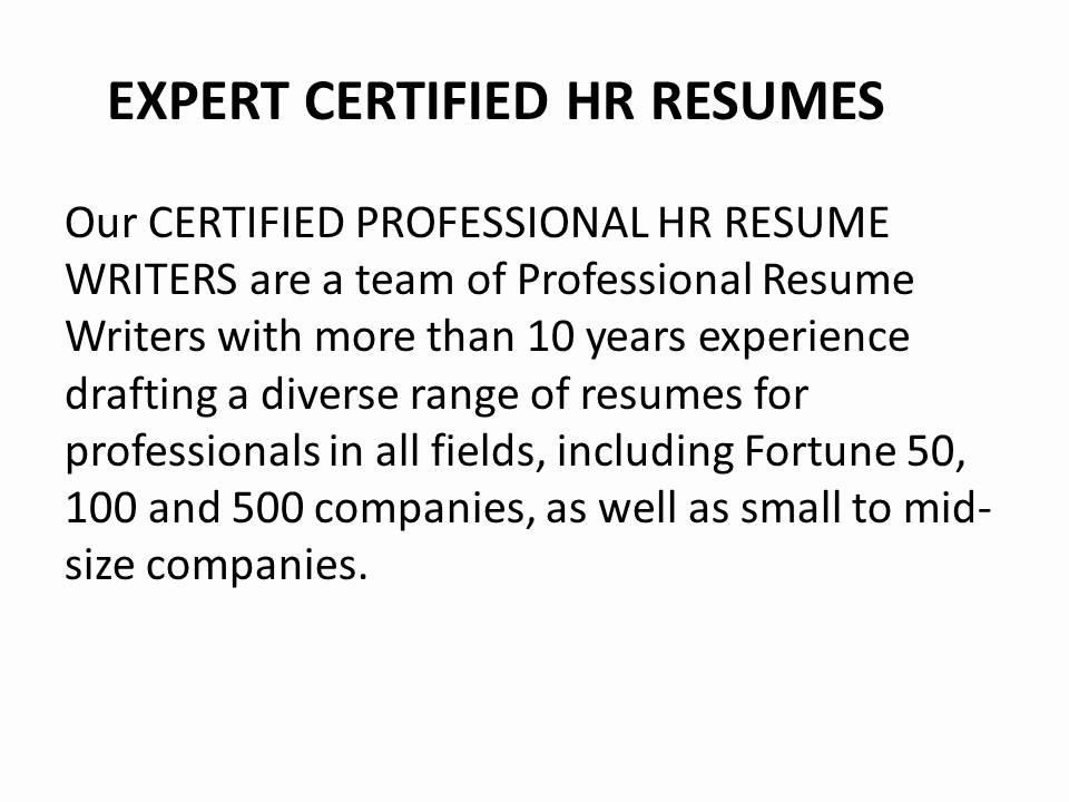 wwwBestHRresumes - Certified Resume Writers! - YouTube