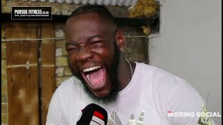 DEONTAY WILDER ON DILLIAN WHYTE, FURY/ORTIZ REMATCHES, JOSHUA-RUIZ & PREVIOUS 'BODY' COMMENTS