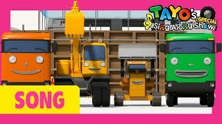 Tayo Strong Heavy Vehicles Song l Hello Song l Tayo Sing Along Special l Strong Heavy Vehicles