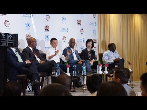 High Level Roundtable with Jack Ma Founder Alibaba Group, Full Session, Nairobi Kenya.