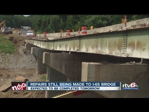 Inspection reports: I-65 bridge had structural issues