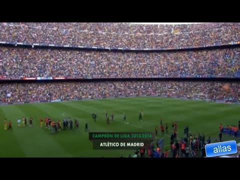 atleti camp nou ovation