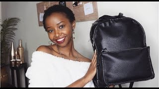 WHAT'S IN MY BAG // Wabosha Maxine
