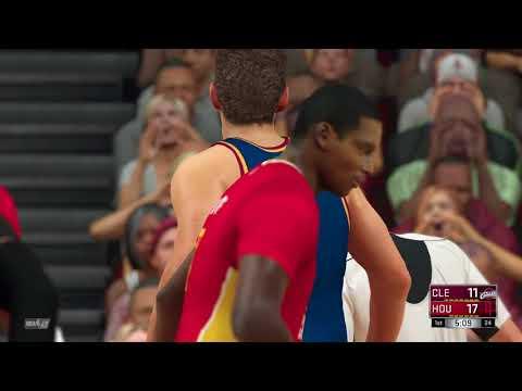 NBA 2K17 Cavaliers vs Rockets 1st Quarter