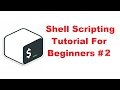 Shell Scripting Tutorial for Beginners 2 - using Variables and Comments