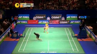 [Highlights] 2013 All England MS QF Lee Chong Wei vs Tien Minh Nguyen