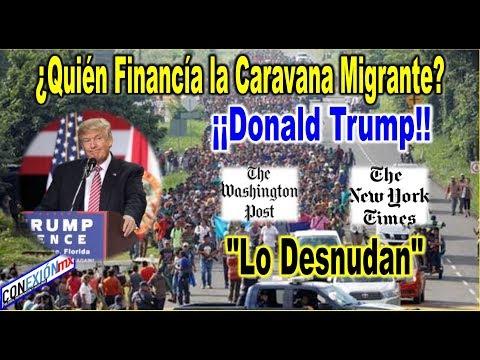 Motivos del actor intelectual (Trump) para crear tal CARAVANA