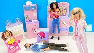 Что Случилось На Приёме у Педиатра? Мультик #Барби Куклы Игрушки Для детей IkuklaTV Школа