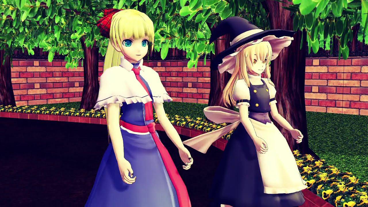 魔理沙とアリスでFit's!