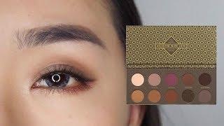 眼妝║小個性的煙燻紫棕色妝容~ Zoeva COCOA BLEND Eyeshadow Palette