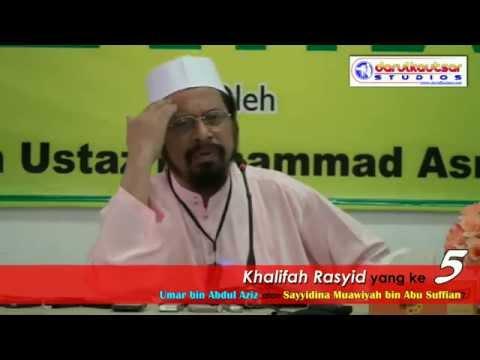 Khalifah Rasyid yang ke 5: Umar bin Abdul Aziz atau Sayyidina Muawiyah bin Abu Sufian?
