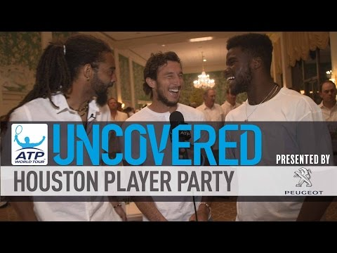 Brown And Tiafoe Put Houston Partygoers In Hot Seat 2017