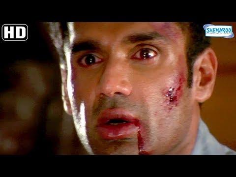 Suniel Shetty Scene Compilation - Baaz Scenes - Karisma Kapoor - Jackie Shroff -Hit Bollywood Movie