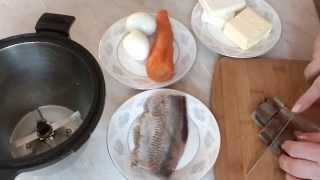 Паштет из селёдки Начинка для бутербродов блинов лаваша
