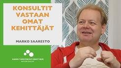 Konsultit vastaan omat kehittäjät, lauteilla Marko Saaresto, Rakettitiede