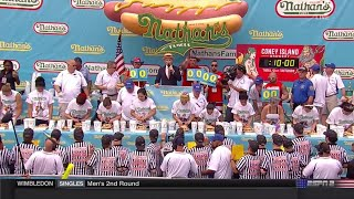 hot dogs speed eating
