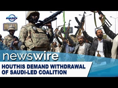 Houthis demand withdrawal of Saudi-led coalition | News Wire | Indus News