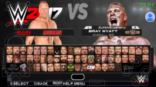 Download WWE 2K17 Falcon's Arrow MOD Fully Working On Android Using PPSSPP 0.9.9.1 With Fix