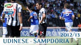 Udinese - sampdoria serie a 2012/13 eng