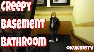 Creepy Restaurant Basement Bathroom Scare Prank at PF changs Seattle ok4kidstv video 111