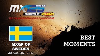 EMX125 Presented by FMF Racing Race2 Best Moments - MXGP of Sweden 2017