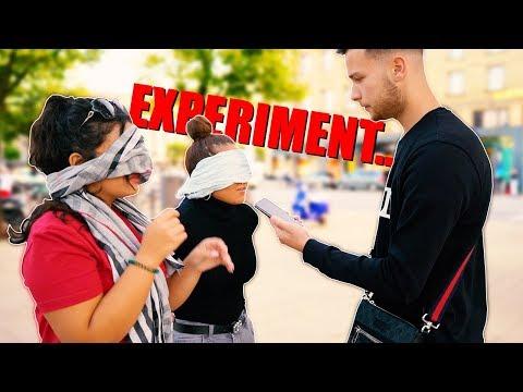 EXPERIMENT: VERTRAUEN Mir Fremde MENSCHEN Mit
