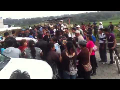 Insulto de priistas a Ciudadanos de Cuijingo en Juchitepec