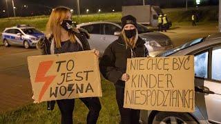 Strajk samochodowy w Ostrołęce