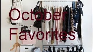 October Favorites! Thrift Haul Items, Food, & More! Thumbnail