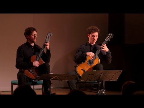 WANDERER GUITAR DUO plays J. K. MERTZ - Am Grabe der Geliebten