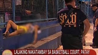 Video UB: Lalaking nakatambay sa basketball court, patay nang tambangan sa Novaliches, QC download MP3, 3GP, MP4, WEBM, AVI, FLV April 2018