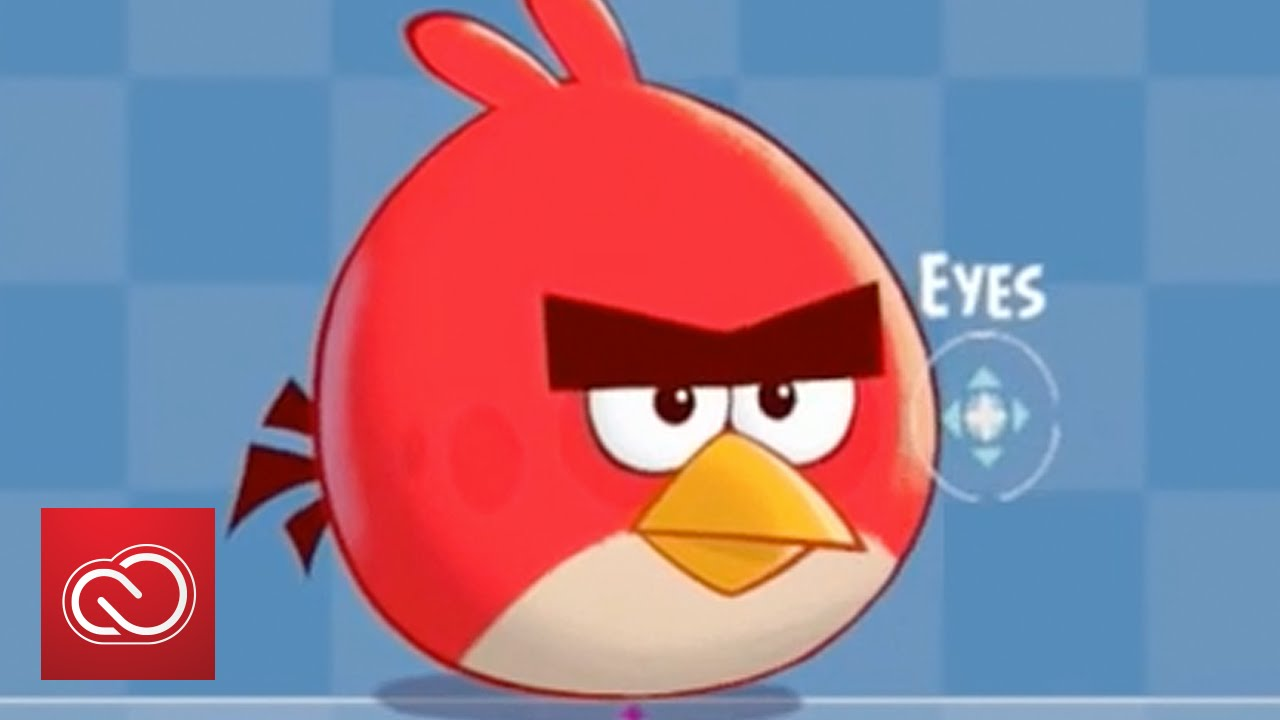 Images Of Angry Birds Characters: Hand Drawn Animated Character Rigs In Angry Birds With