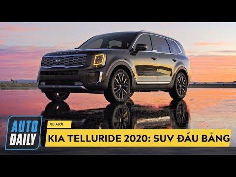 Kia Telluride 2020: SUV đầu bảng Hàn Quốc, 3 hàng ghế, 8 chỗ, rộng miên man |AUTODAILY.VN|