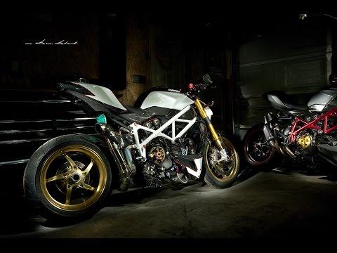 Custom Ducati streetfighter S by Damian Dabrowski