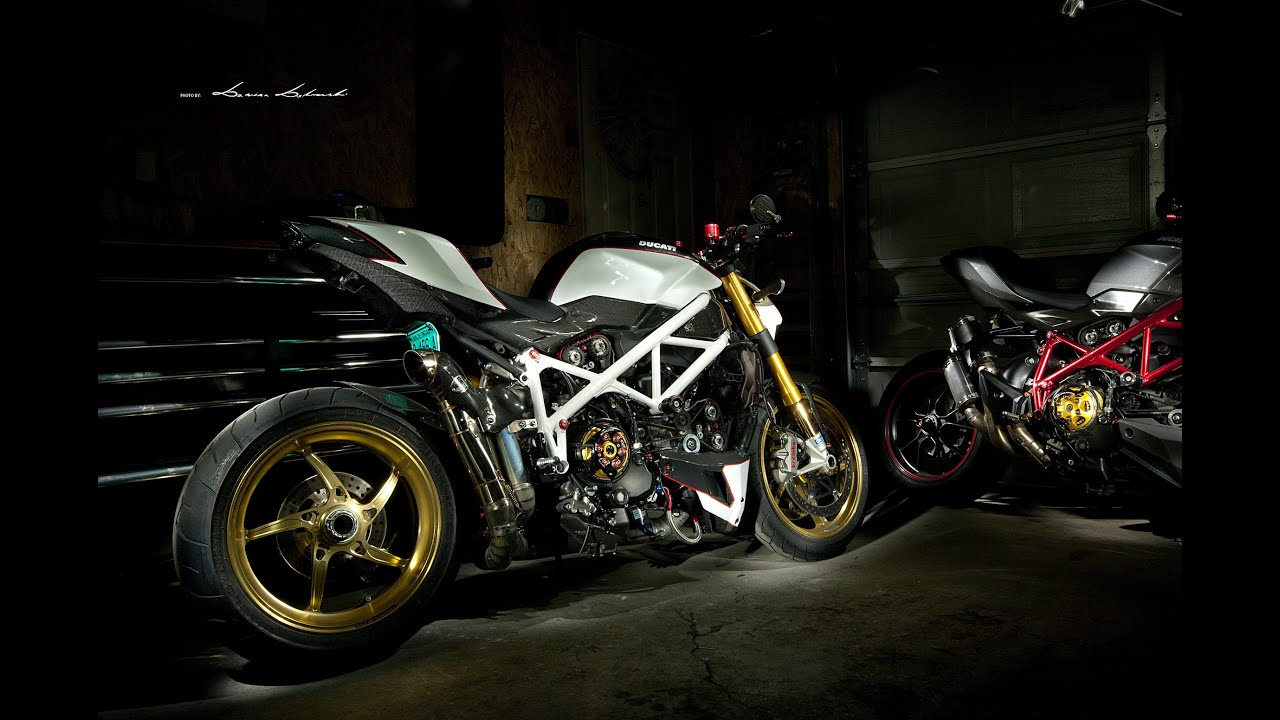 Custom Ducati streetfighter S by Damian Dabrowski - YouTube