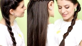 3 простые ПРИЧЕСКИ на КАЖДЫЙ ДЕНЬ/ Easy everyday hairstyles in 5 minutes(ВАЖНО! Мой канал -https://www.youtube.com/user/Tattocika Видео Юлечки MixStyleCappucino - https://www.youtube.com/watch?v=g4071wlXwvI ДРУЖИМ?, 2014-07-05T07:47:14.000Z)