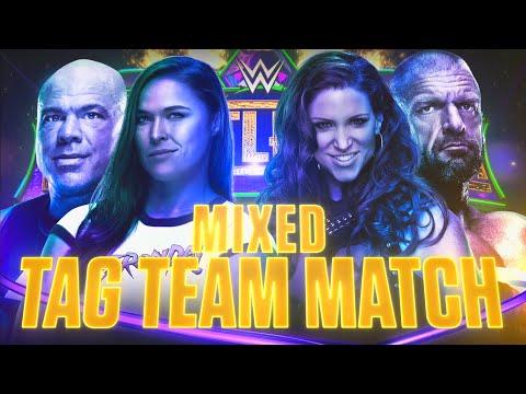 Kurt Angle & Ronda Rousey to battle Triple H & Stephanie McMahon at WrestleMania 34