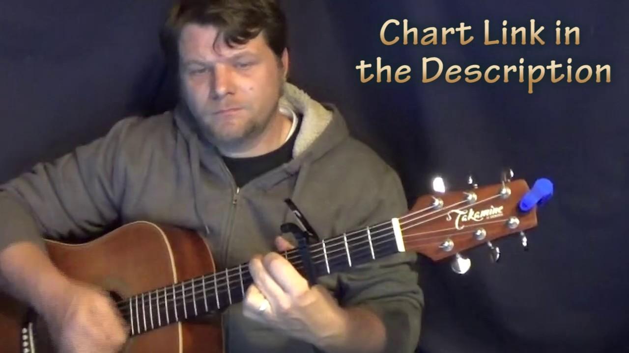 Small Town John Cougar Mellencamp Guitar Chord Chart Capo 4th
