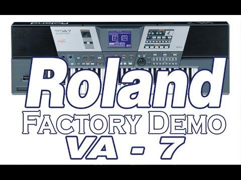 Roland VA7 Factory  Demo