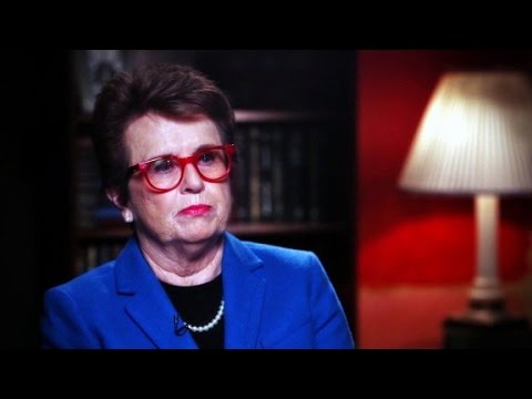Tennis icon Billie Jean King on body image in sports