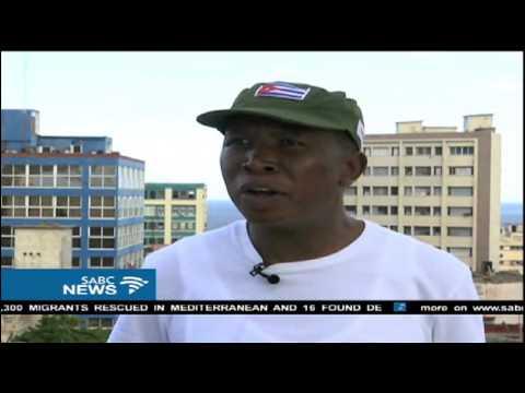 Julius Malema in Cuba for Castro's funeral