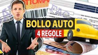 4 regole su Bollo auto | Angelo Greco