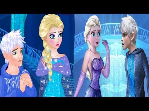 Frozen Disney Princess Elsa and Jack Love Problems Games For Children