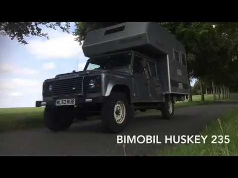 Land Rover Defender ultimate camper- Bimobil Huskey 235 Demountable Camper