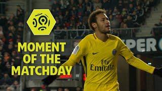 Neymar magic helps PSG down Rennes : Week 18 / 2017-18