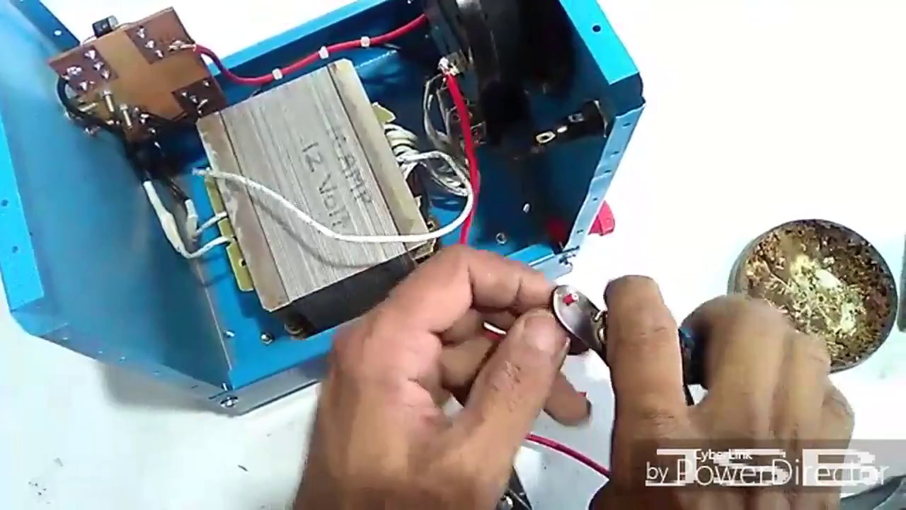how to make 12v 10 amp adjustable battery charger easy at home yt 46 [ 1280 x 720 Pixel ]