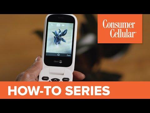 Doro 7050: Using the Camera (4 of 7) | Consumer Cellular